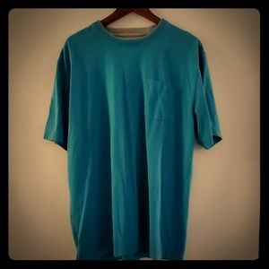 IZOD tshirt, blue, great condition